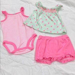 Baby Girl's Matching Set 💗🍓💗